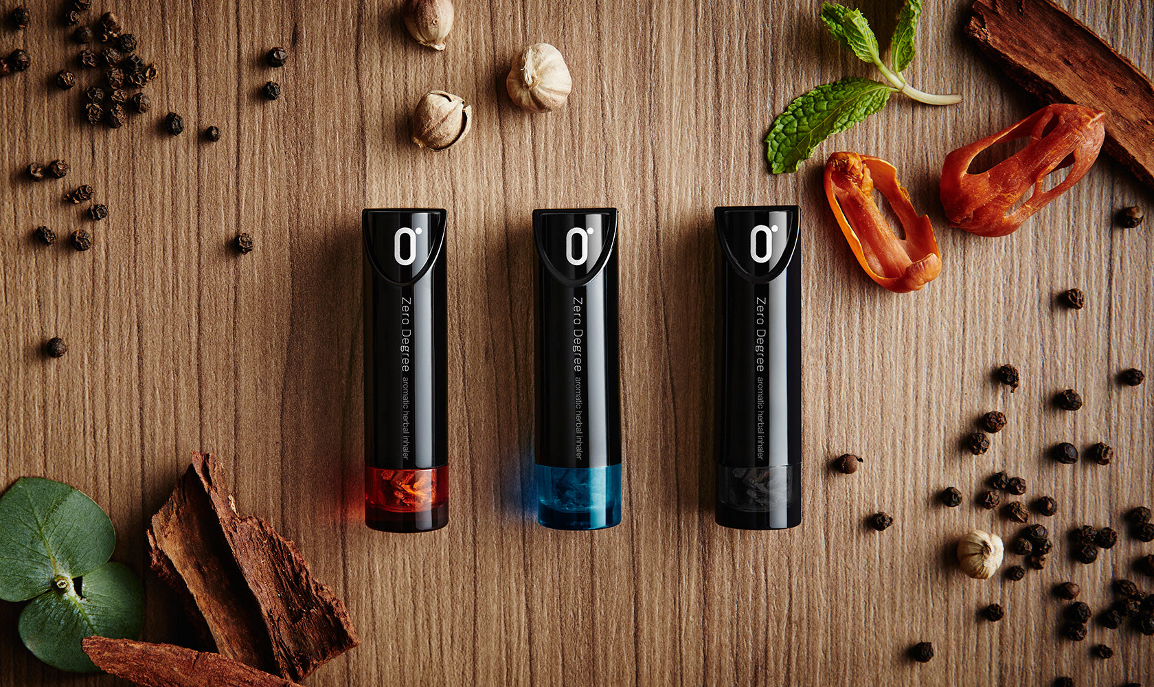 Zero Degree Aromatic Herbal Inhaler - iF Design Award Wining product