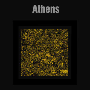 NITELANDING Athens Map - Lighting Decoration Art - ZERO DEGREE