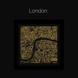 NITELANDING London Map - Lighting Decoration Art