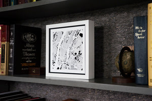 NITELANDING New York MAp - Lighting Decoration Art