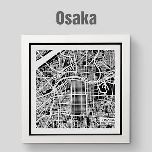 NITELANDING Osaka Map - Lighting Decoration Art