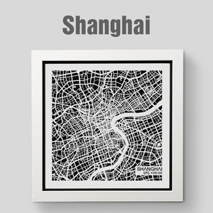 NITELANDING Shanghai Map - Lighting Decoration Art - ZERO DEGREE