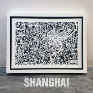 NITELANDING Shanghai Map - Lighting Decoration Art
