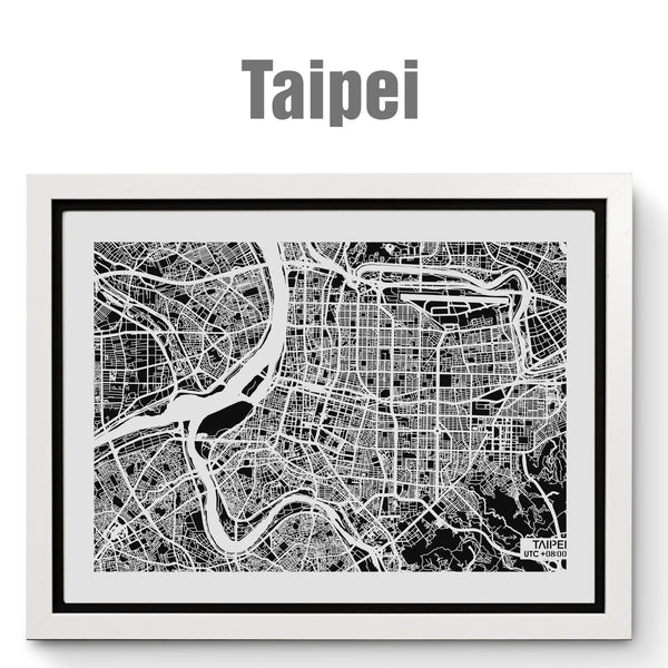 NITELANDING Taipei Map - Lighting Decoration Art