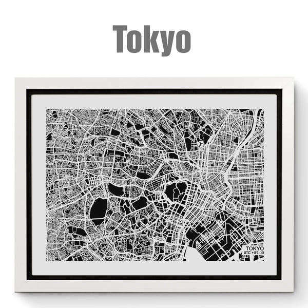 NITELANDING Tokyo Map - Lighting Decoration Art