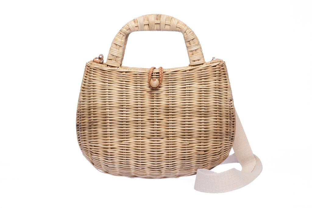 Abi Wicker Shoulder Bag