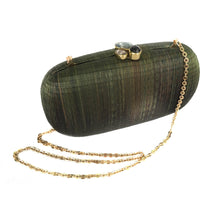 Load image into Gallery viewer, Grass is Greener Oval Clutch (Vegan)
