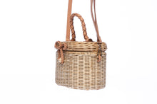 Load image into Gallery viewer, Camille Rattan Shoulder bag