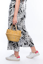 Load image into Gallery viewer, Gina foldable mini basket Vegan handbag