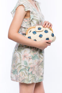 Sea Shell Signature Clutch