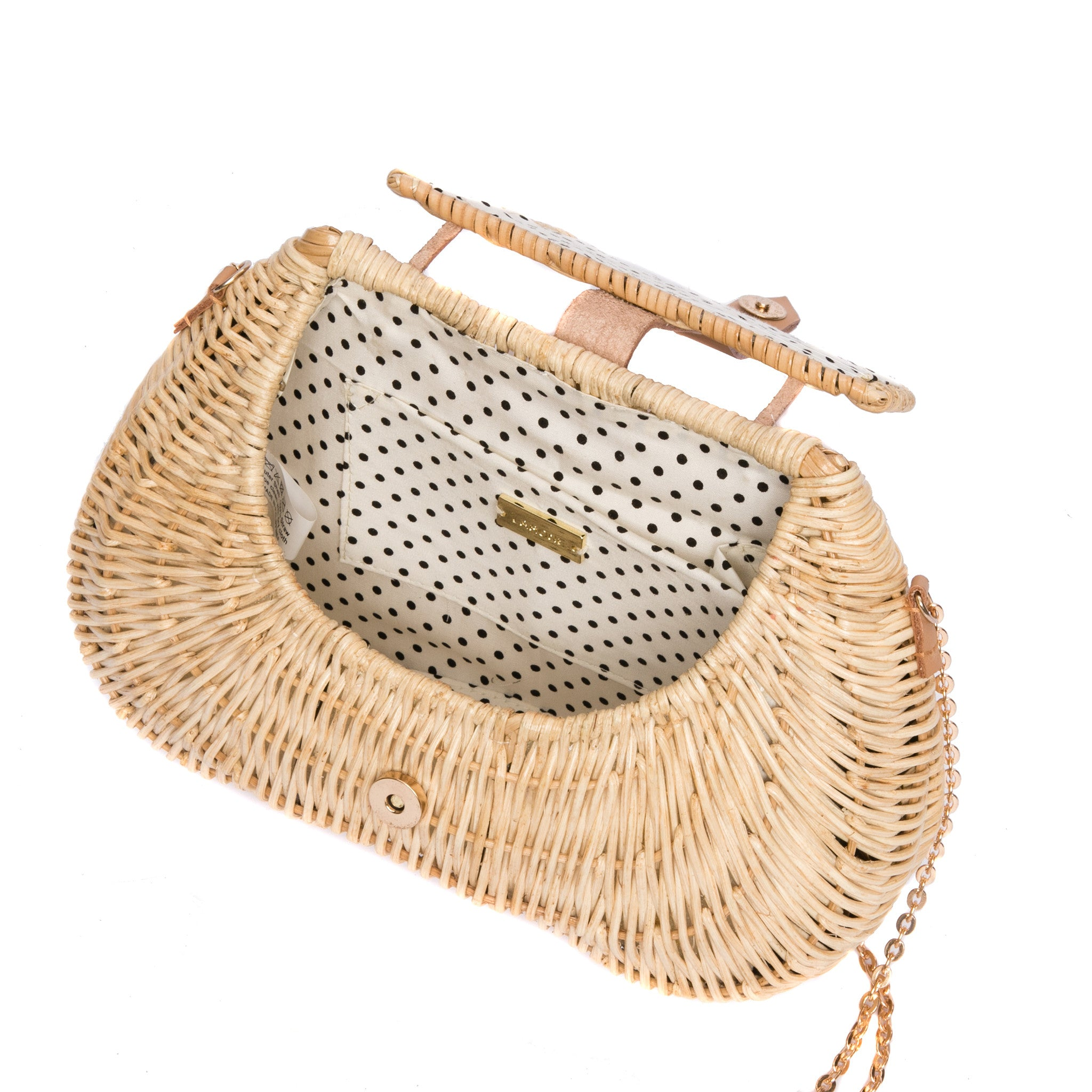 Wind Chaser Wicker shoulder bag