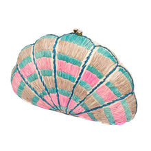 Load image into Gallery viewer, Seashell Karuna Rainbow Clutch
