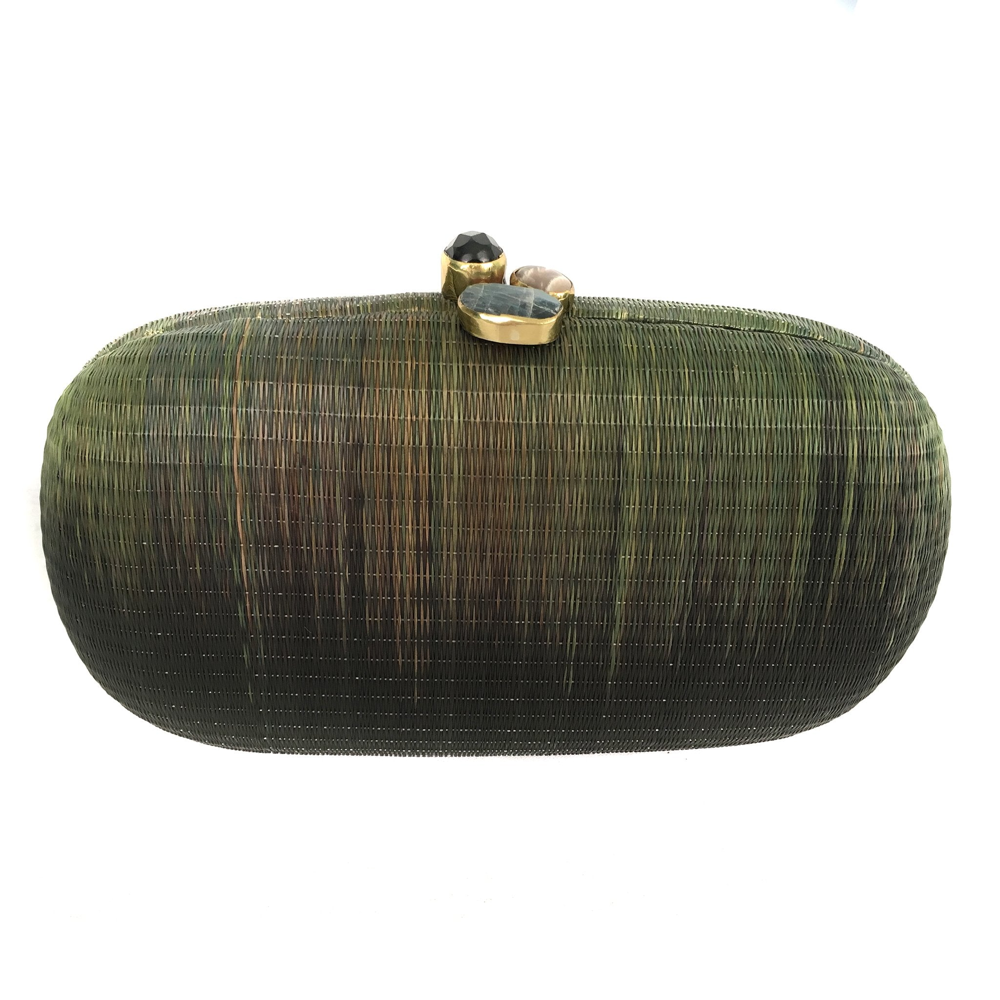Grass is Greener Oval Clutch