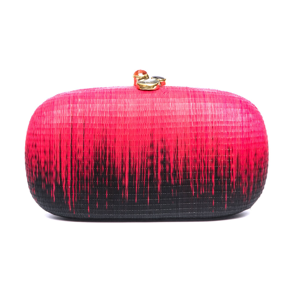 Horizon Oval Clutch (Vegan)