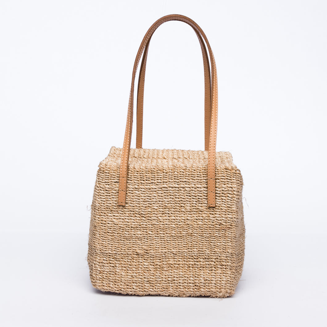 Dolly Cube Handbag Natural