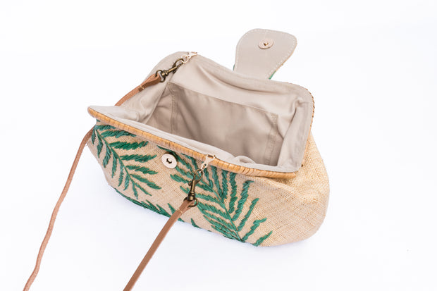 Palm Leaves Signature Basic Clutch 1