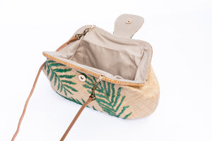 Palm Leaves Signature Basic Clutch