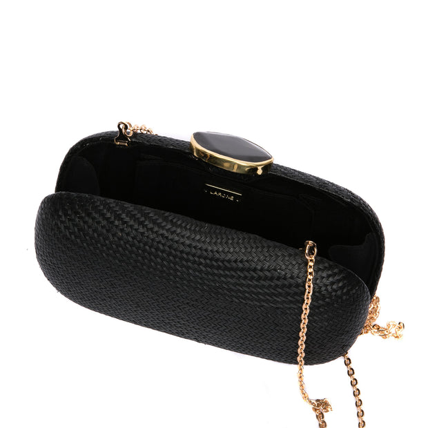 Dark Sky Oval Clutch (Vegan) 1