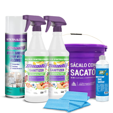 Sacato Sanitizer Combo Kit