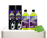 Untouchable Wet Tire Finish Shine Wash and Wax