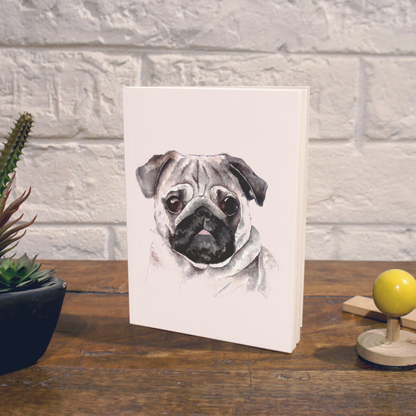 Notebook | Pug - TheInkBucketstore