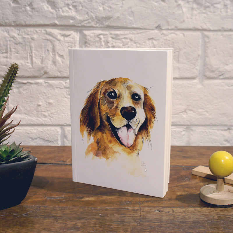 Notebook | Golden Retriever - TheInkBucketstore