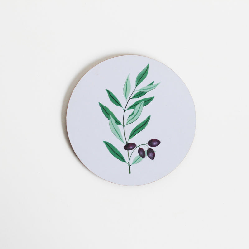 Botanical Coasters - Set of 4 - TheInkBucketstore