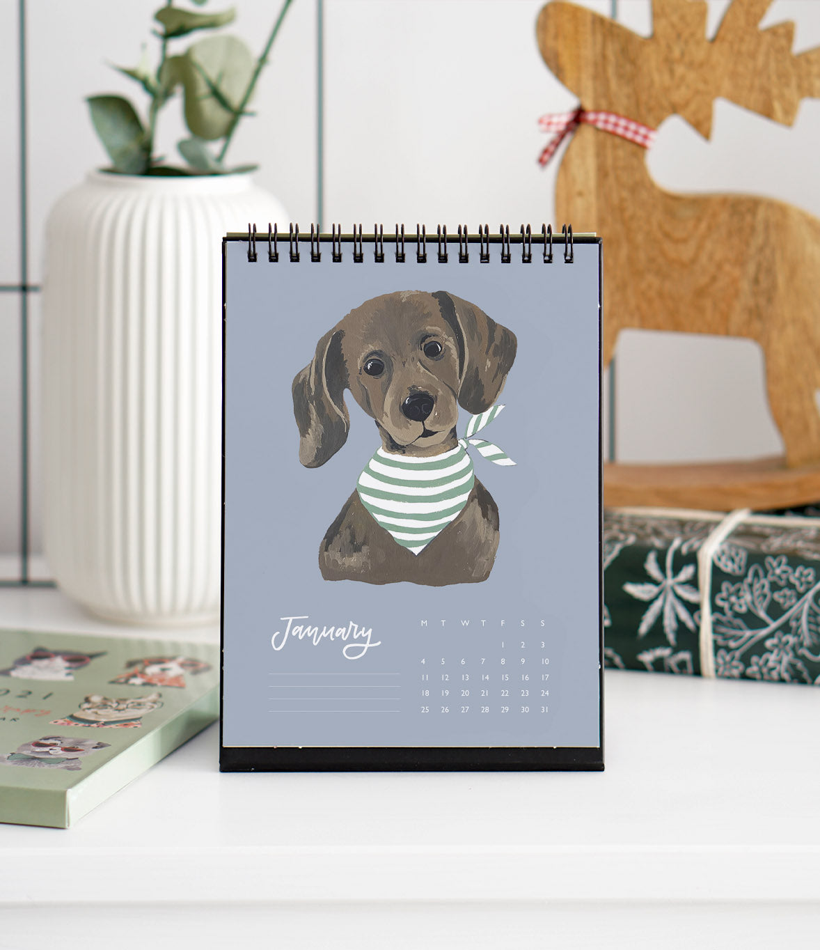 Desk Calendar | Pet Therapy