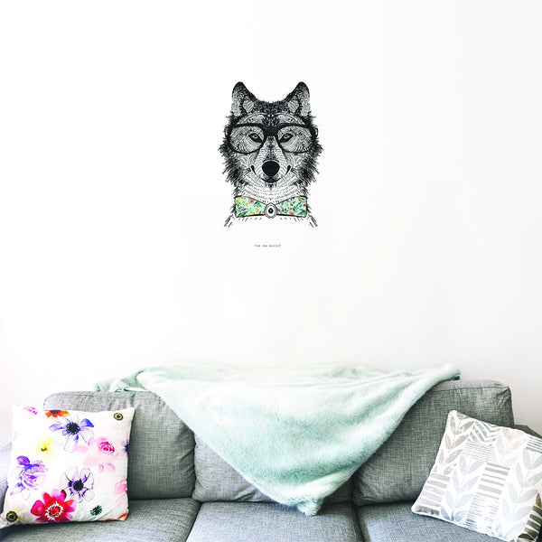 Fox Decal - TheInkBucketstore