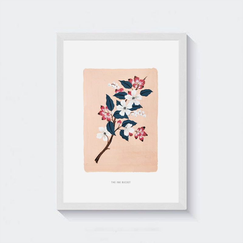 Wall Art | Branch of Blooms 2 - TheInkBucketstore