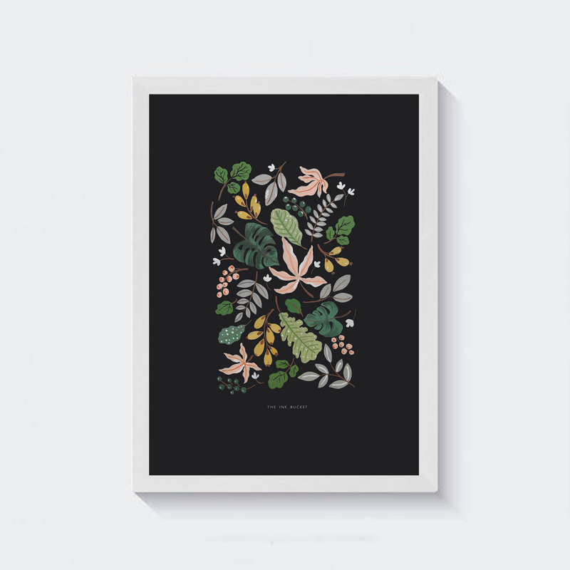 Wall Art | Harmony in Leaves - TheInkBucketstore