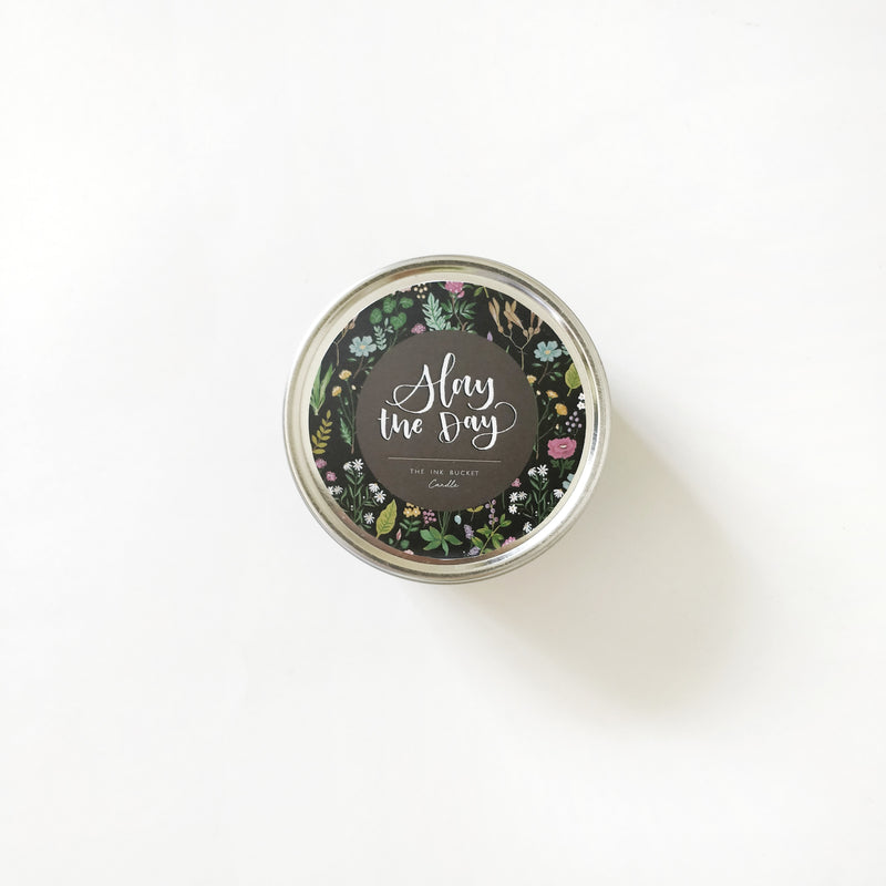 Candle | Slay the day - TheInkBucketstore
