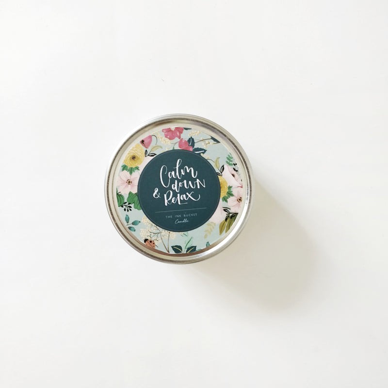 Candle | Calm Down - TheInkBucketstore