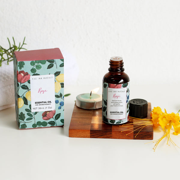 Essential Oil | Rose - TheInkBucketstore
