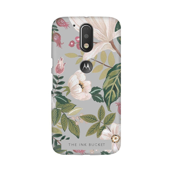 Grey - Moto G4 Plus - Phone Cover - TheInkBucketstore