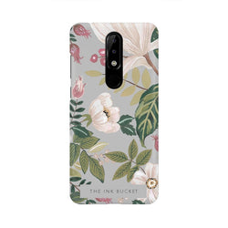 Grey - Nokia 5.1 Plus - Phone Cover - TheInkBucketstore