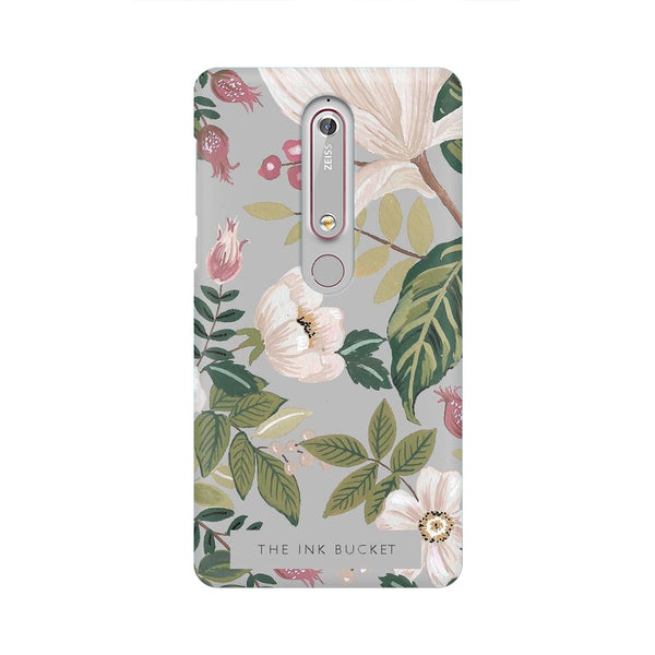 Grey - Nokia 6.1 - Phone Cover - TheInkBucketstore