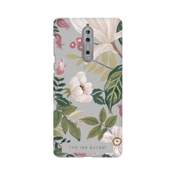 Grey - Nokia 8 - Phone Cover - TheInkBucketstore