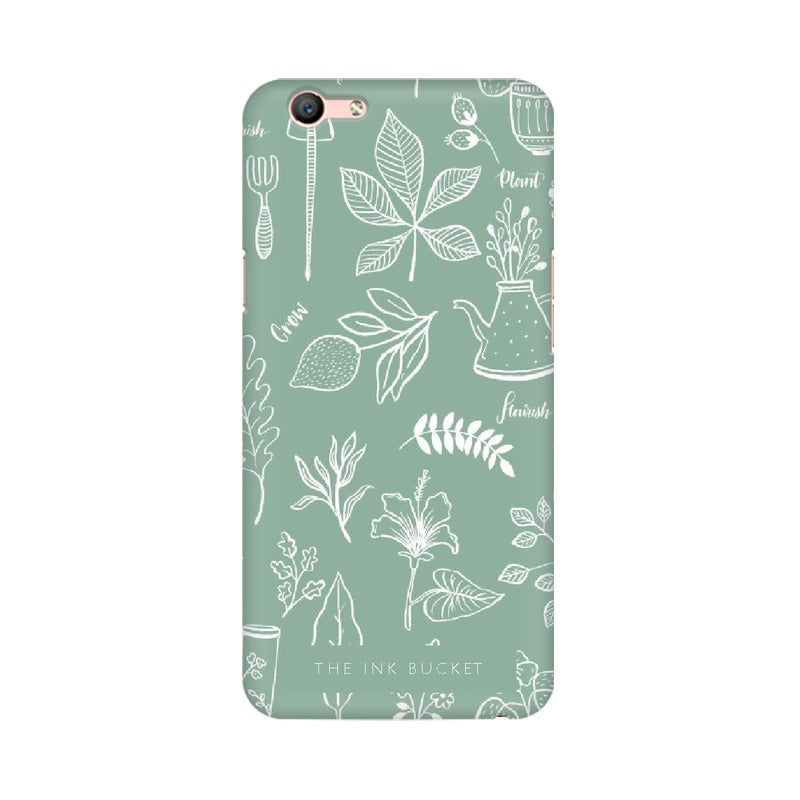 Flourish - Oppo F1s - Phone Cover - TheInkBucketstore