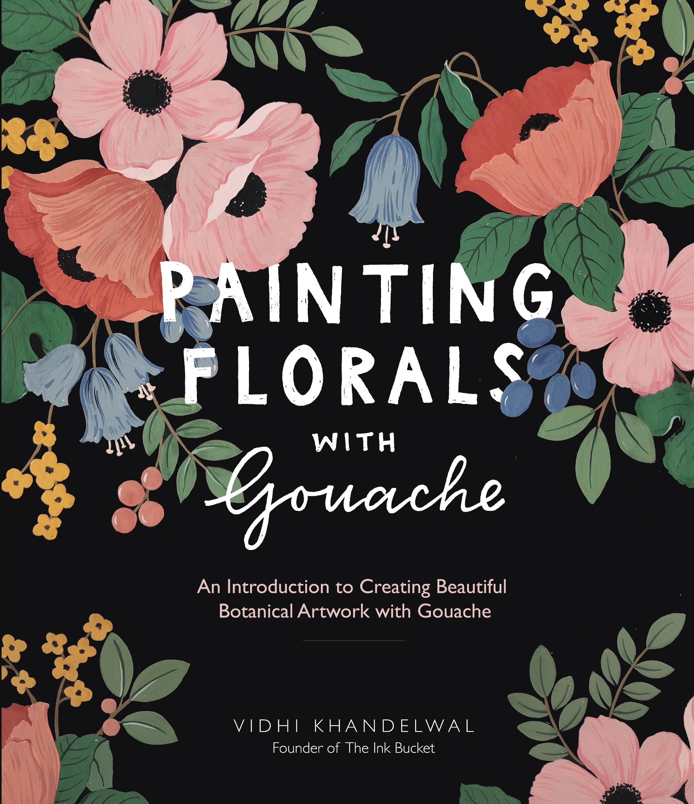 Painting Florals with Gouache | Pre-order (Paperback)