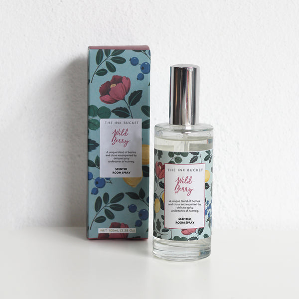 Room Spray | Wild Berry - TheInkBucketstore