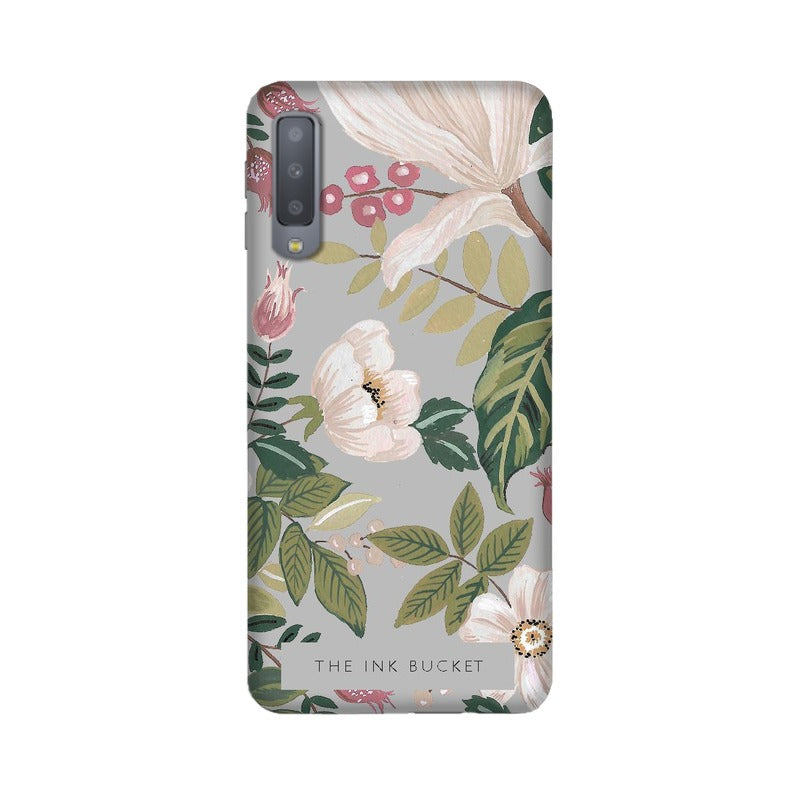 Grey - Samsung A7 2018 - Phone Cover - TheInkBucketstore