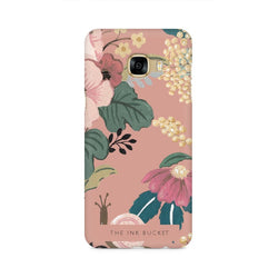 Pink - Samsung C7 Pro - Phone Cover - TheInkBucketstore