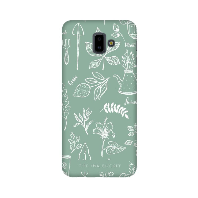 Flourish - Samsung J6+ - Phone Cover - TheInkBucketstore