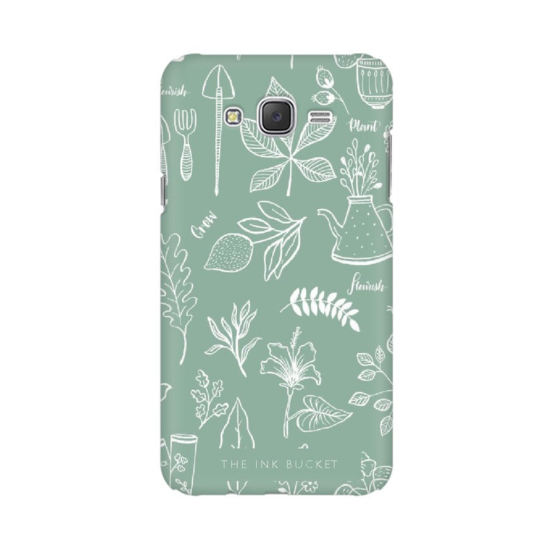 Flourish - Samsung J7 - Phone Cover - TheInkBucketstore
