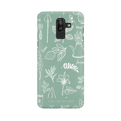 Flourish - Samsung J8 - Phone Cover - TheInkBucketstore