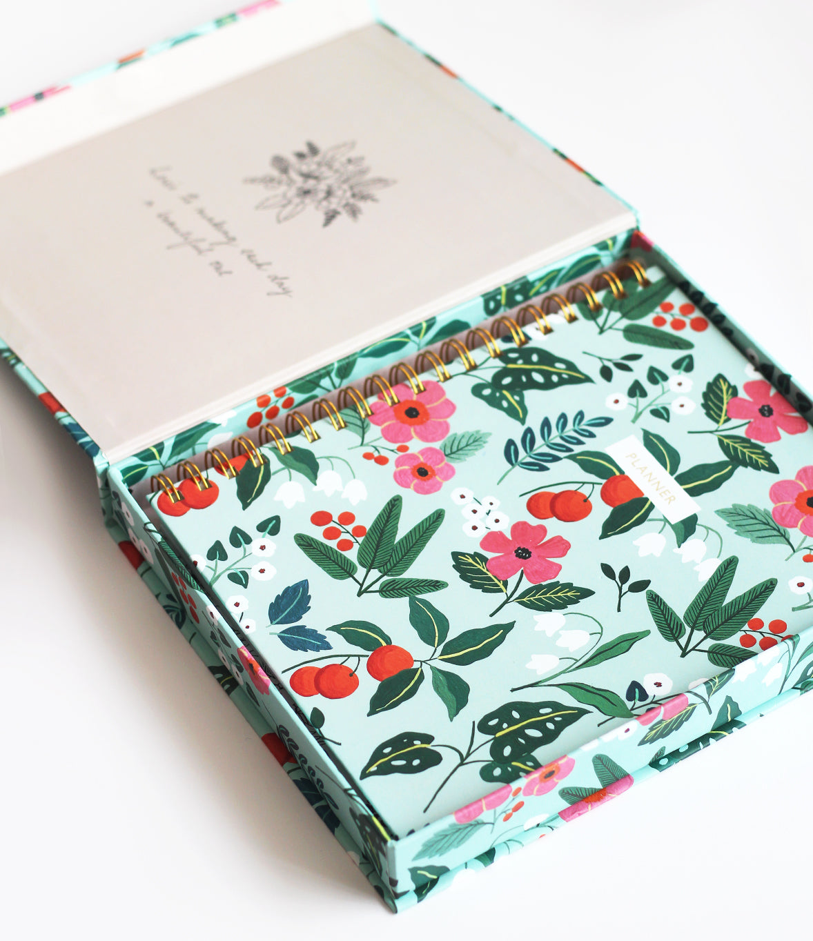 Undated Planner | Tropical Mint