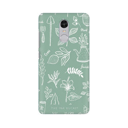 Flourish - Xiaomi Redmi Note 4 - Phone Cover - TheInkBucketstore