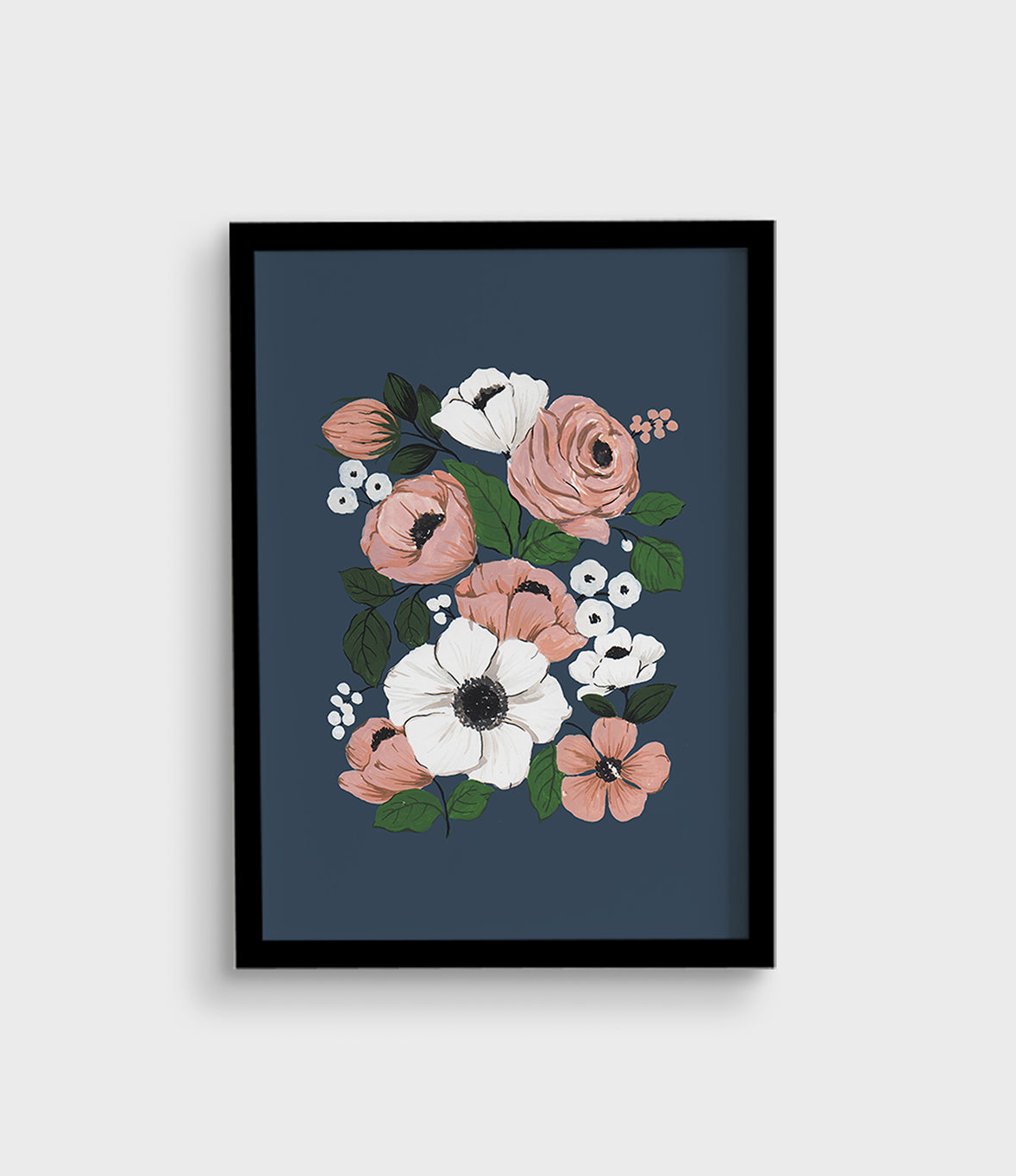 Wall Art | Pink Rose