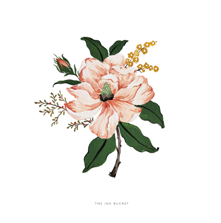 Wall Art | Magnolian Dream - TheInkBucketstore